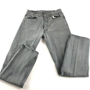 Levis 501 Button Fly Original Straight Jean USA